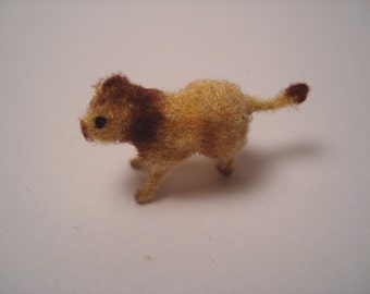 Tiny Lion for the Dollhouse