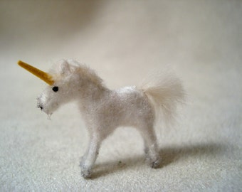 Tiny Unicorn for the Dollhouse