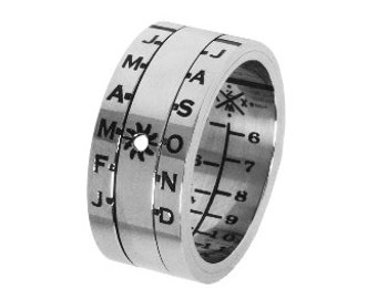 Aquitaine Sundial Ring - Wear a Sundial on your Finger