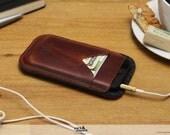 iPhone 5s 5 5c wallet case iphone case designer iphone sleeve leather case -HERDWICK- HE-5-ALB