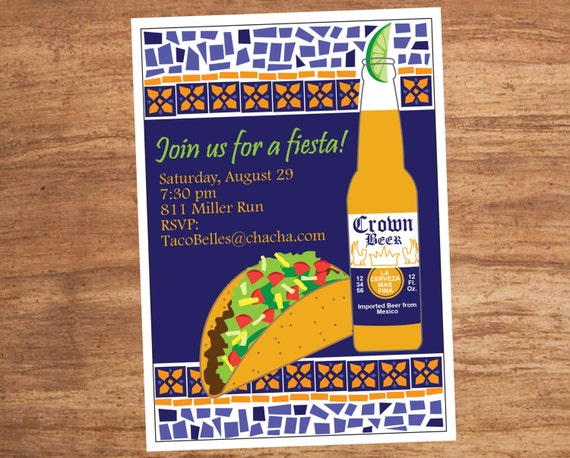 il_570xN.454831365_d5e4 mexican food taco fiesta party invitation,Taco Party Invitations