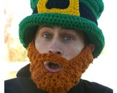 ST PATRICK'S DAY Party Hat and Removable Beard
