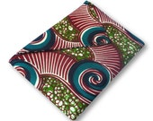 Vintage swirl wax print iPad Case/Clutch