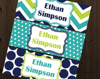Waterproof Labels, Waterproof Stickers, Name Labels, Dishwasher Safe Daycare Labels, School Labels, Kindergarten Labels, Boy School Labels