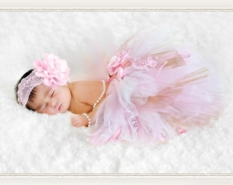 Vintage Tutu-Baby tutu- Infant Tutu- Baby- Tutu- Newborn Tutu- Tutus- Available is size 0-24 months