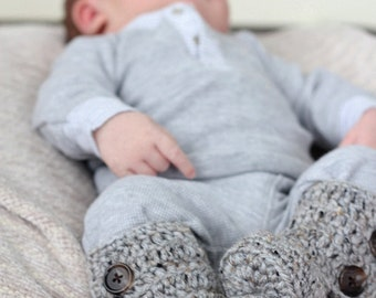 Cozy Baby Booties