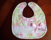 Baby Bib Classic Pink Floral