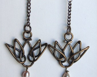 The Lotus Earring