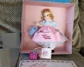 "SALE Madame Alexander 8"" 1985 Convention Souvenir doll MIB No. 52 of 450 edition Happy Birthday Madame"