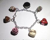 Chocolate Candy Sweets Bracelet --- Valentine's Bracelet