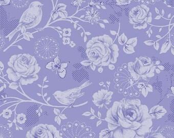 Ellie Ann - China Blue Morning Sun by Eleanor Burns for Benartex Fabrics