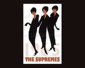 Supremes Pattern, The Supremes, Black Americana, Motown, Music Cross Stitch, Famous Singers, Cross Stitch from NewYorkNeedleworks on Etsy