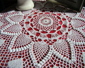 crochet pineapple stitch edging � only new crochet patterns