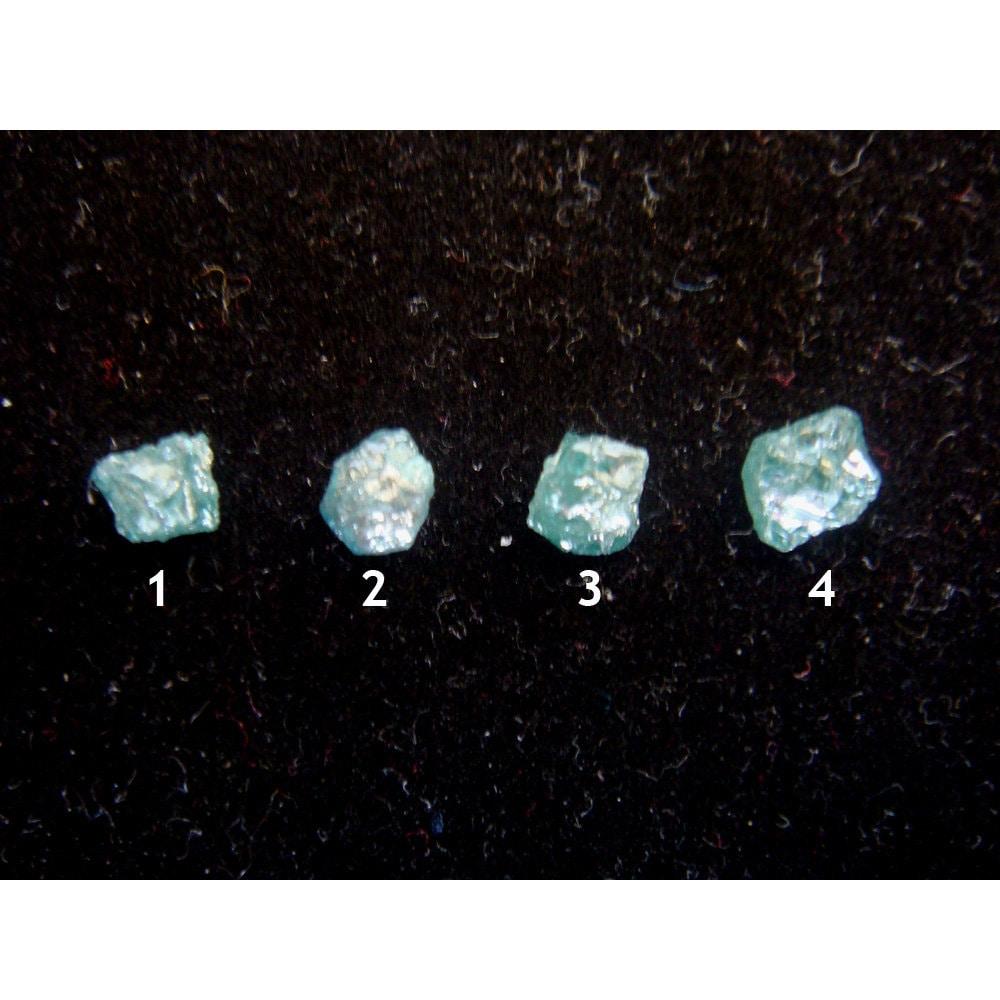 blue diamonds rough blue diamond raw diamonds 4mm 1