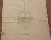 Vintage, Large Muslin Unstitched Feed Sack