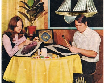 Vintage String Art Magazine