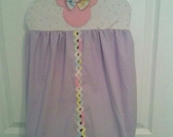 Minnie Mouse Pastel  Diaper Stacker