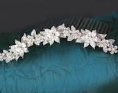swarovski crystal bridal tiara headpiece wedding tiara wedding headpiece bridal rhinestone tiara crystal tiara crystal bridal accessories