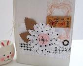 Altered Book - Mini Scrapbook Album - OOAK - Altered Journal