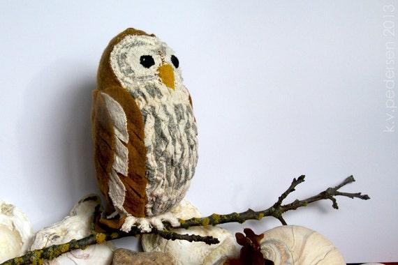 Barred Owl Soft Sculpture