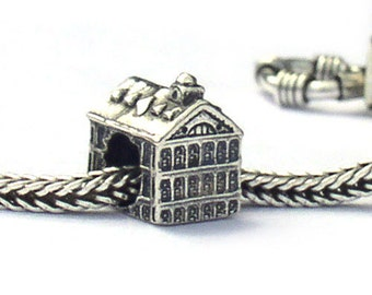 Faneuil Hall Landmark Bead Sterling Silver LM035