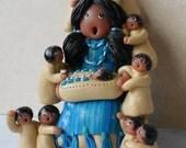 Special Order Southwest STORYTELLER doll figure for Dawnawall