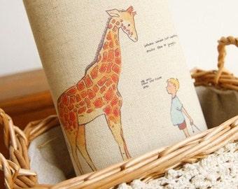 Cotton Linen Fabric Cloth -DIY Cloth Art Manual Cloth -Printing Dyeing Linen Fabric Cotton  8x 12Inches(20x30CM)
