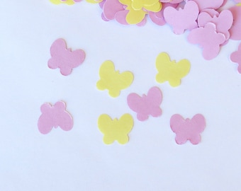 Butterfly Confetti Yellow Lavender 500 Pieces
