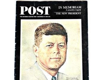 Saturday Evening Post, December 1963, In Memoriam of John F. Kennedy