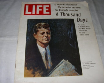 Life Magazine Nov. 5, 1965 Complete Issue with a portion of Schlesingers book