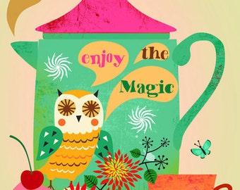 Enjoy the Magic-limited edition art print