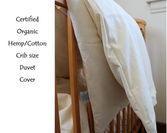 Organic baby/toddler duver cover