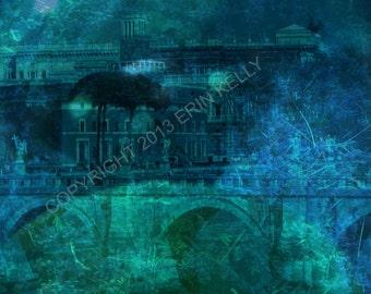 Underwater City -  Photograph / Art Print DIGITAL DOWNLOAD