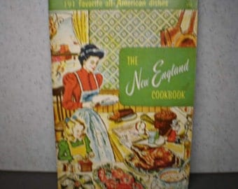 Vintage Mid Century Cookbook - The New England Cookbook