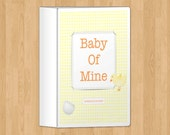 Yellow Pregnancy Journal Diary, printable
