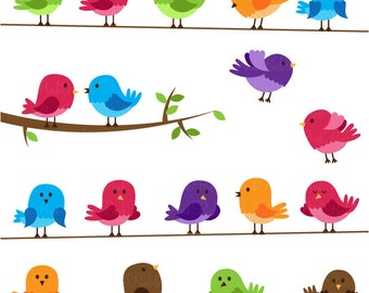 Birds SVGs, Birds SVG File Cutting Templates - Commercial and Personal Use