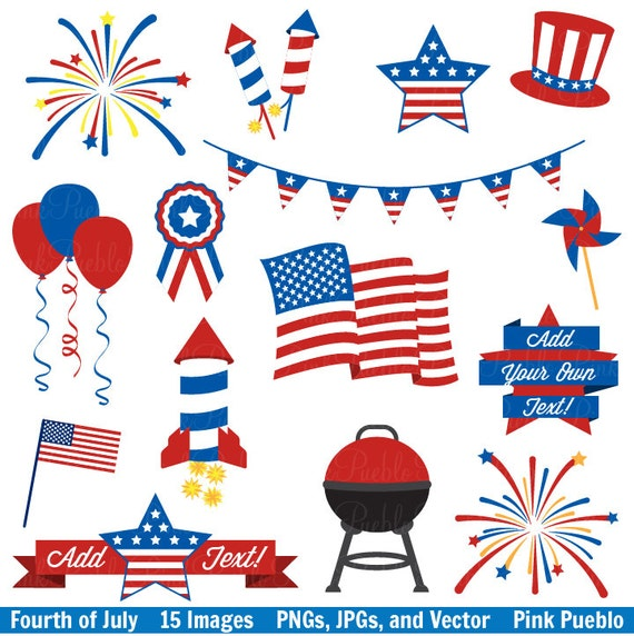 Fourth of July Clip Art Clipart 4th of July Clip Art Clipart