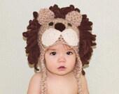 Lion Hat - Halloween Costume - Baby Lion Hat  - Toddler Lion Costume Hat - Baby Halloween Costume - Lion Costume Hat - by JoJosBootique