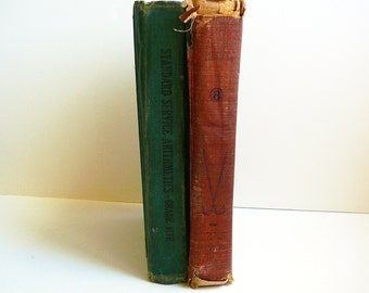 ARITHMETIC Books 1927 Math Book Antique Books
