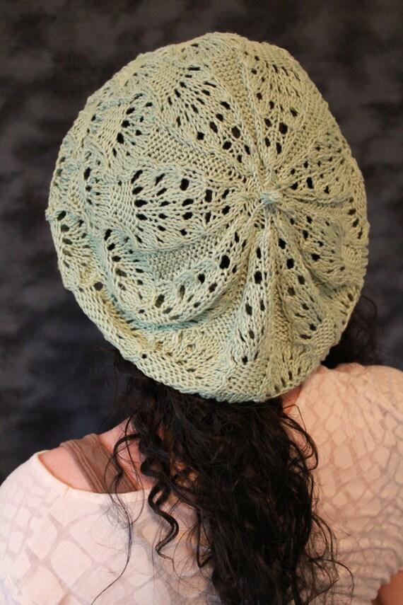Knitting Pattern Lace Beret : Fairy Lace Beret: PDF Knitting Pattern by The Sexy Knitter from thesexyknitte...