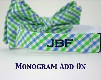 Monogram Add On - Back Monogram