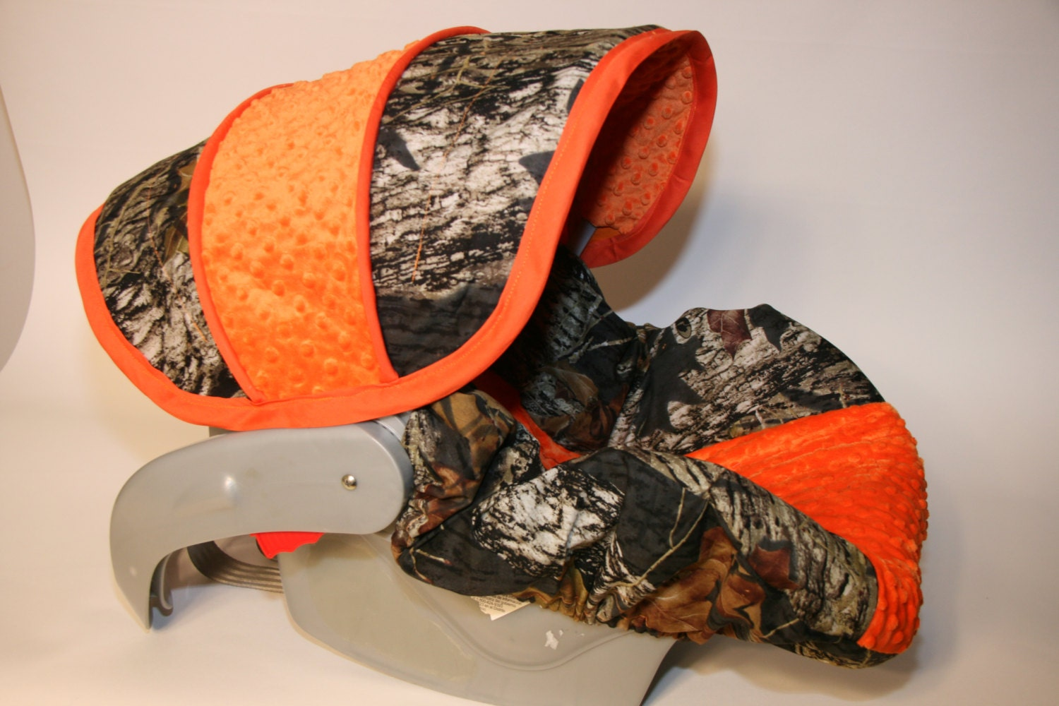 Hunters Camo Infant Car Seat Cover Custom Order Comes With