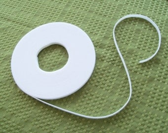 3 Yards White Ultra-Thin Velcro for Doll Clothes