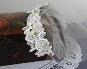 Sample sale - Charlotte Birdcage Wedding Veil in White