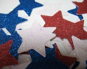 Star Confetti, 100 Pieces  4th of July decoration, Patriotic decoration, Independence day decoration