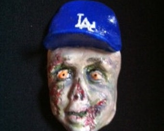 Dodgers Zombie Magnet