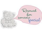 Custom Order for NthnButMoonshine - Purple Penguin Pink Bow Toddler Baby Girls Felt Hair Clippie Clip