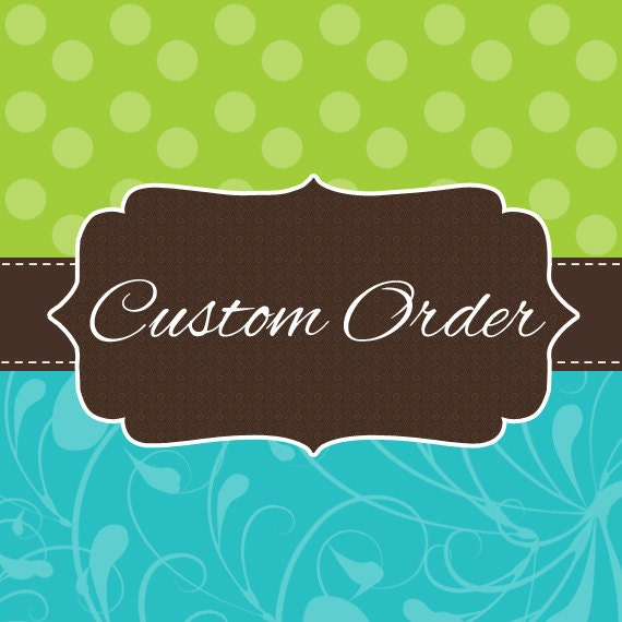 Custom listing for jessiedwiggins