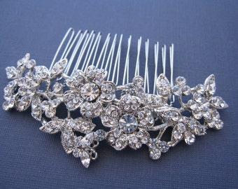 Wedding hair comb,Bridal hair accessories,Wedding hair piece,Bridal hair clip,Wedding headpiece,Bridal comb,Wedding hair flower,Hair clip