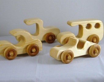 Wooden Fun Vehicle Group